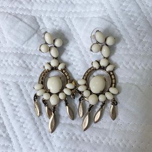 Stella & Dot Earrings. 2 in one